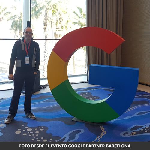 Foto en el Evento de Google Partener Barcelona